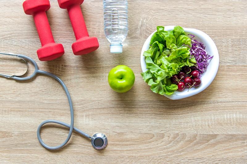 運動と食事